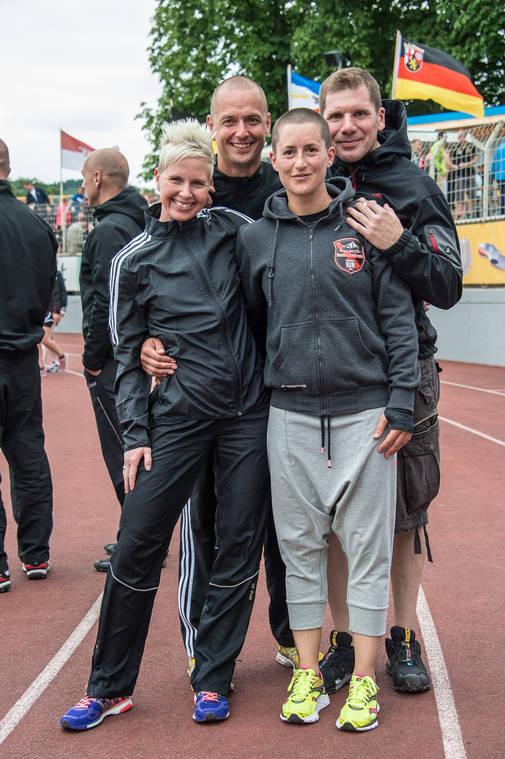 Team ZKA (Sabrina Wurzinger , Nadine Haßdenteufel, Stefan Schröder und Thomas Wieser)