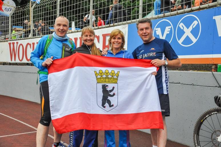 Susanne Reink, Dorin Raatz, Steffen Pluskal und Christoph Kalm 4. Platz Senioren 4 x 2,8 km Staffellauf (11. DZM Dresden 2015) 9 Teilnahmen Steffen Pluskal - 500 tes Mitglied in der DZSH