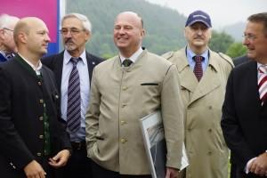 Hartmut Koschyk Palamentarischer Staatssekretär (CSU) während der Eröffnungsfeier der 8. Deutschen Zollmeisterschaft Sonthofen/Oberstdorf 2012