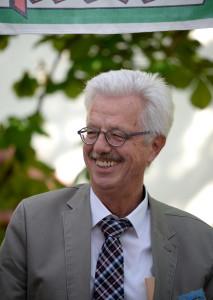 Otto Neideck Freiburgs Erster Bürgermeister, bei der Eröffnungsfeier zur 12. DZM Freiburg 2016