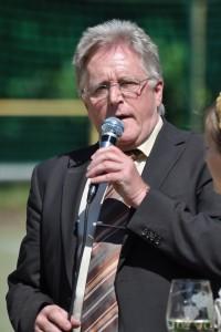 Werner Kastner: (seit 1999Stadtbürgermeister Edenkoben/Pfalz) während der Eröffnungsfeier bei der 6. Deutschen Zollmeisterschaft in Edenkoben/Pfalz 2010