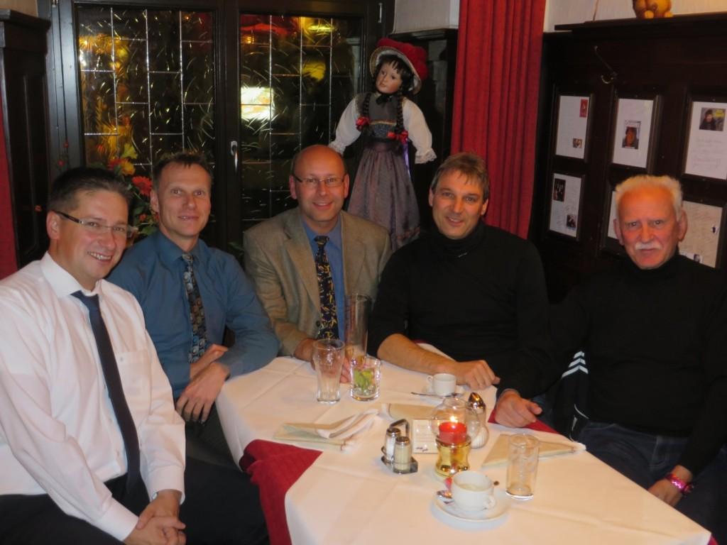 Gesprächsrunde mit dem Partner BB Bank in Freiburg