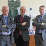Besuch beim Präsidenten der BFD Mitte Andreas Schneider