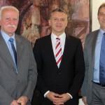 Gespräch mit Staatssekretär Werner Gatzer