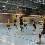 Die Entwicklung des Volleyball-Turniers bei der Deutschen Zollmeisterschaft