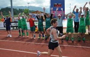 Beste Halbmarathonläuferin aller Zeiten, hier bei der 9. DZM in Sonthofen/Oberstdorf