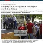 Presseartikel aus der Badischen Zeitung zur 12. DZM