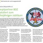 Der BDZ gratuliert der DZSH
