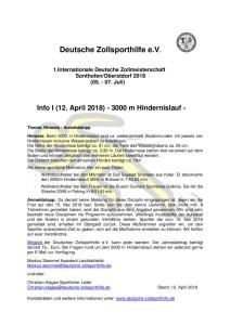 thumbnail of Info I (3000 m Hindernislauf)