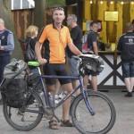 Mit dem Fahrrad zur Deutschen Zollmeisterschaft