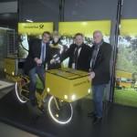 Besuch beim Hauptpartner Deutsche Post / DHL