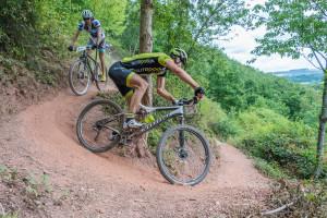 Mountainbike-Rennen bei der .. Deutschen Zollmeisterschaft in Trier