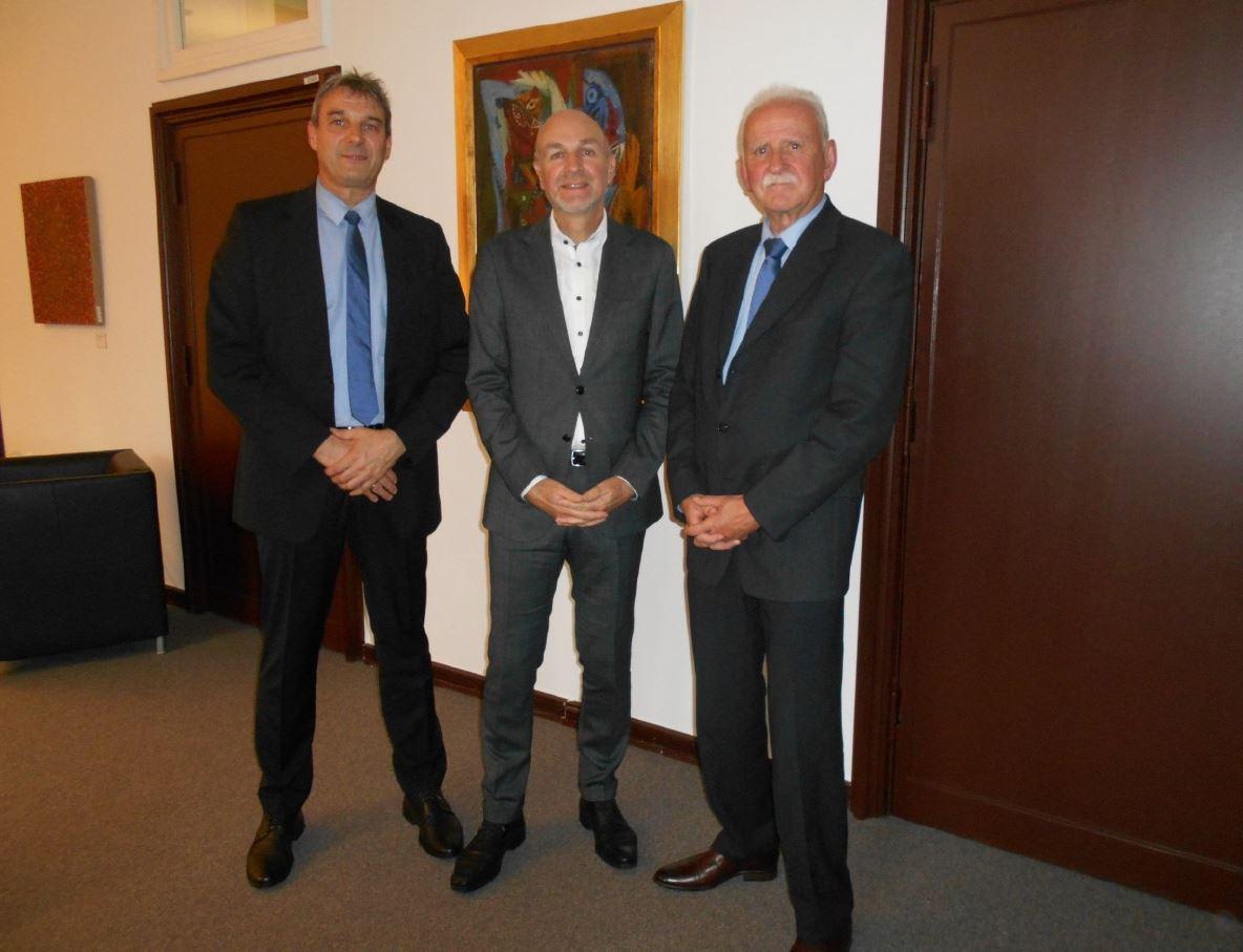 Besuch beim Staatssekretär Dr. Rolf Bösinger