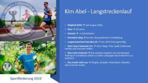 thumbnail of (3) Kim Abel Steckbrief