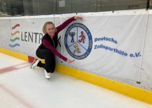Sportförderung DZSH: Regina Hachenberg/Eiskunstlauf. Ab sofort kann eine Sportförderung 2021 beantragt werden.